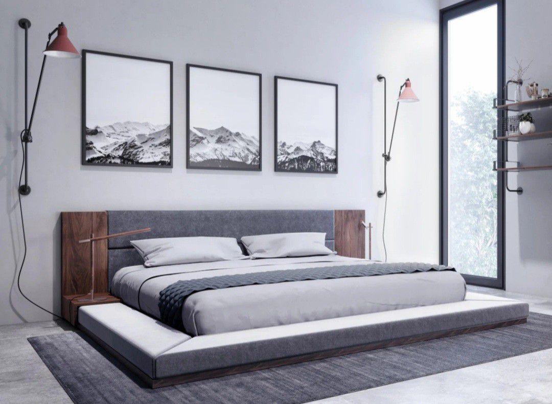 Platform bed - Like new