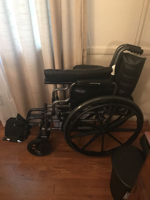 Rolling Wheelchair (Very Lightly Used) for Sale in Alexandria, VA