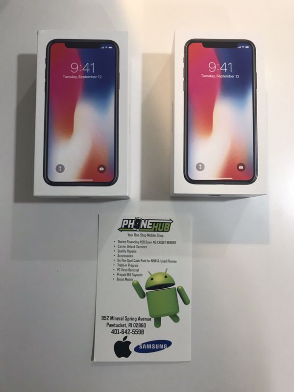 FINANCE New iPhone X - No credit check