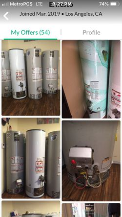 Water heaters Thumbnail