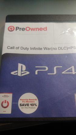 Call of duty Infinite Warfar Thumbnail