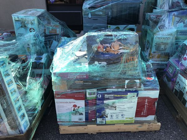 Direct Wholesale Liquidation**Merchandise by the Pallet**Huge  Savings**Electronics*Household*Luggage*Toys & More for Sale in Orlando, FL  - OfferUp