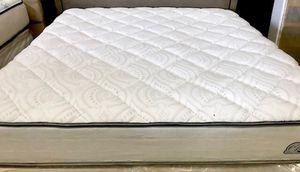 King Denver Mattress Co Brand-Plush/Firm Hybrid w/Tallalay Latex Foam Mattress Set $300 for Sale in Clermont, FL
