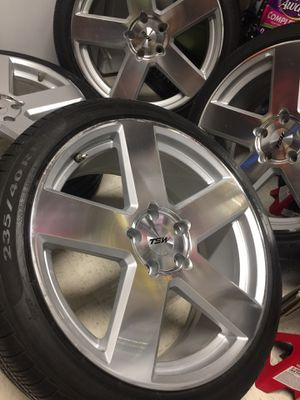 """19"""" TSW Bristol 5x114.3 Wheels Tires Rims Accord for Sale in Silver Spring, MD"""