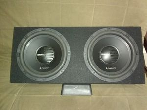 Used, Two brand-new Orion 12 1000w double Voice Coil In The Box brand new for sale  Flamingo, FL