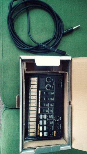 Korg volca beats with cable for Sale in Orlando, FL