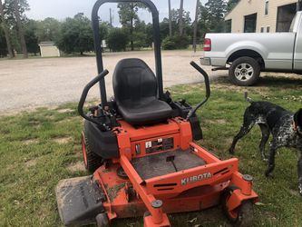 42 inch 0 turn Kubota mower. Drives great very clean low hours. Thumbnail