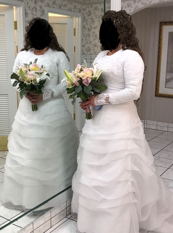 Size 14 Wedding Dress For Sale In Pendleton In Offerup