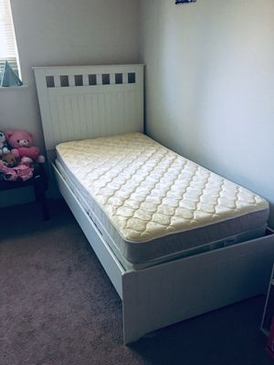 Twin bed with box spring and mattress for Sale in Reston, VA