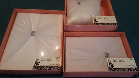 Wedding memory box,guest box ring pillow Thumbnail