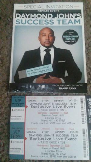 Daymond John Tickets for Sale in Durham, NC