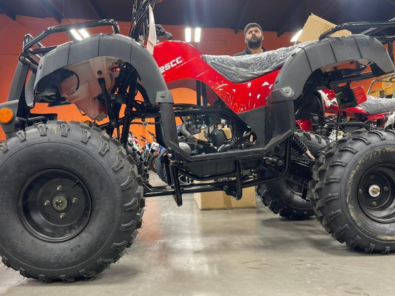 Photo Brand New 125cc Full Body Vitacci Atv For Sale