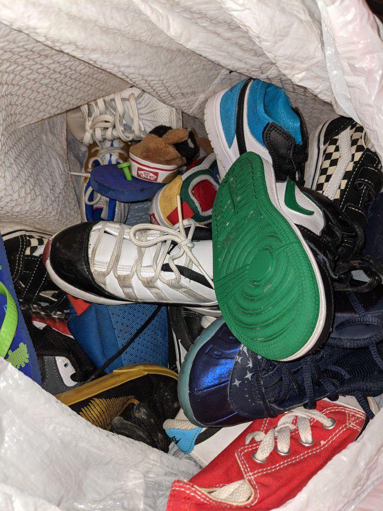 Size 9 Kids Shoes