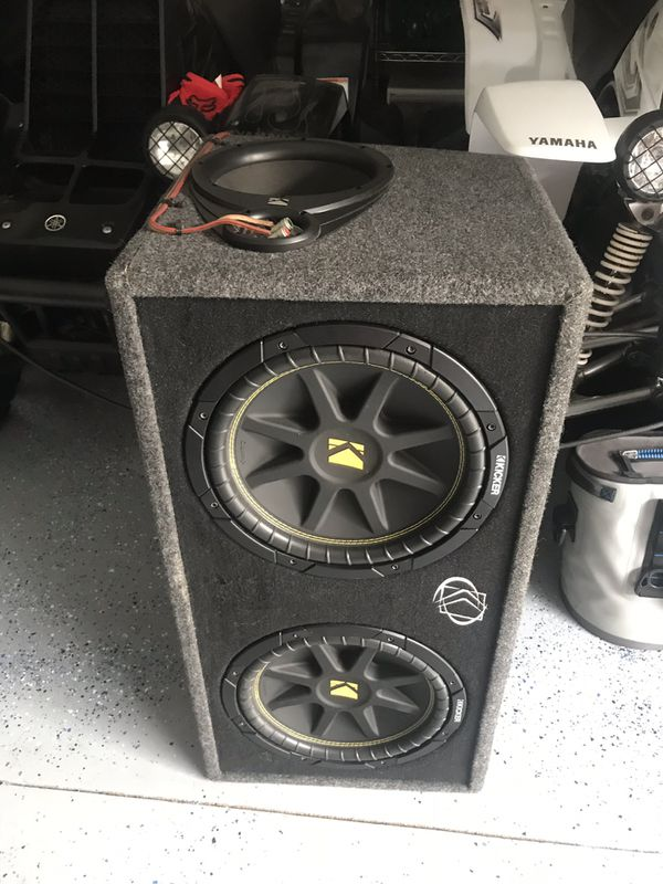 Kicker 12 inch Comp Subs and 1k watt amp for Sale in Clearwater, FL -  OfferUp