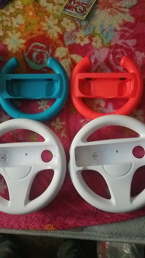 Nintendo controller, switch and wii U wheel for Sale in Los Angeles, CA