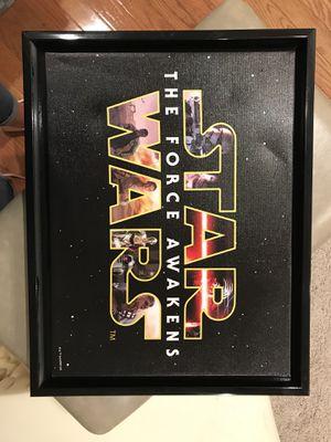 Star Wars canvas for Sale in Herndon, VA