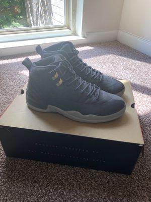 Jordan 12 Wolf Grey size 10.5 for Sale in Adelphi, MD