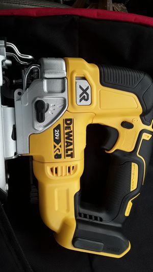 Photo DeWalt 20 volt Max XR jigsaw