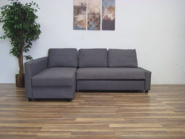 Dark Grey Ikea Friheten Sofa Bed With Chaise And Storage