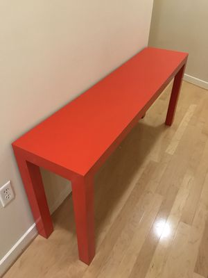 Red console (sofa) table for Sale in Washington, DC