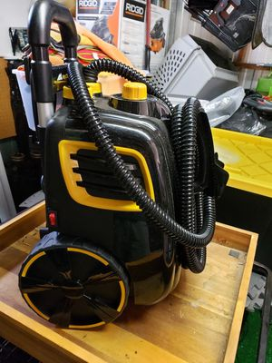 McCulloch MC1385 Deluxe Canister Steam System for Sale in