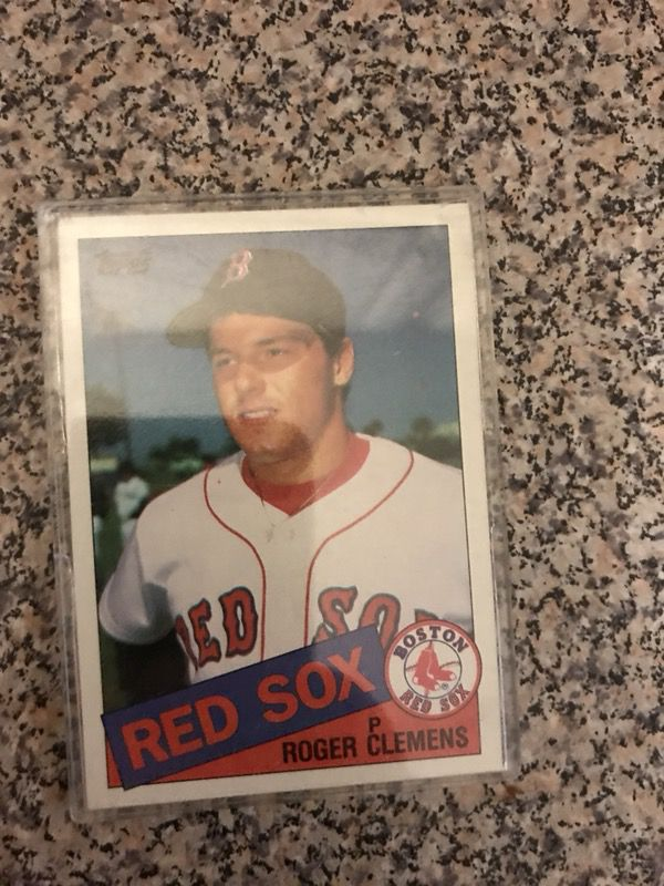 Roger Clemens Topps Rookie Card For Sale In Moncks Corner Sc Offerup