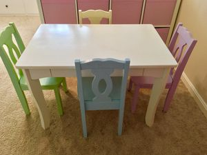 Kids KidKraft Brighton Table and Chairs for Sale in Ashburn, VA