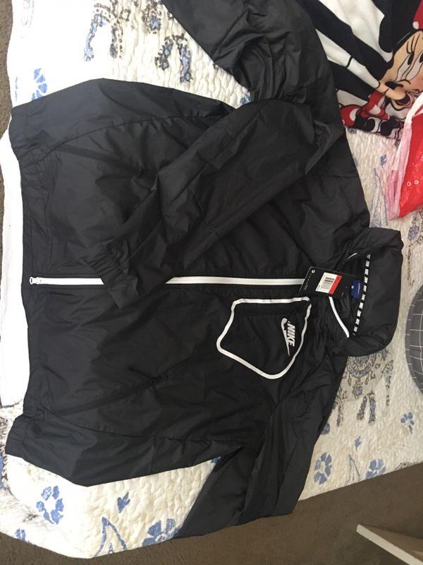 53d7a733fd Nike windbreaker jacket mens LARGE  50 each for Sale in Tracy