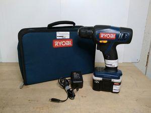 """$39.99 - RYOBI CD100 12v 3/8"""" Cordless Drill/Driver Kit for Sale in Bonita, CA"""
