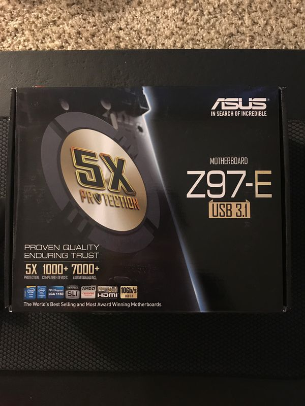 Asus Motherboard New - Z97-E For Sale In Chandler, AZ