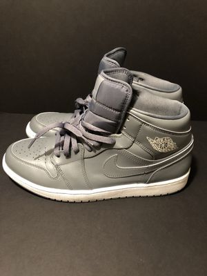Jordan 1 mid 'Wolf Grey' for Sale in Denver, CO