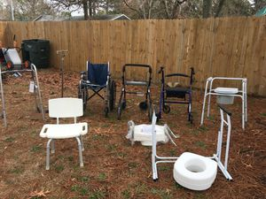 lot of walkers and medical equipment for sale for Sale in TN, US