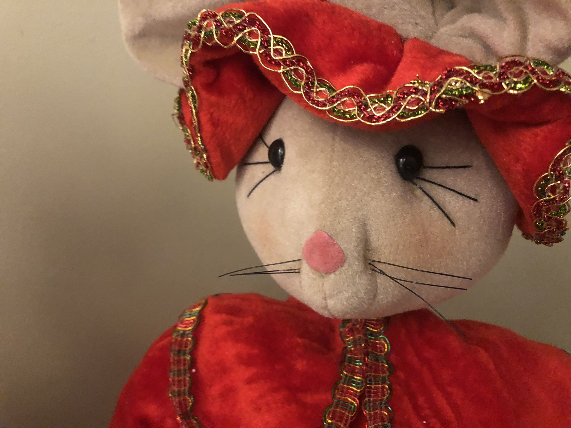 Mr. And Mrs. Christmas Mouse.