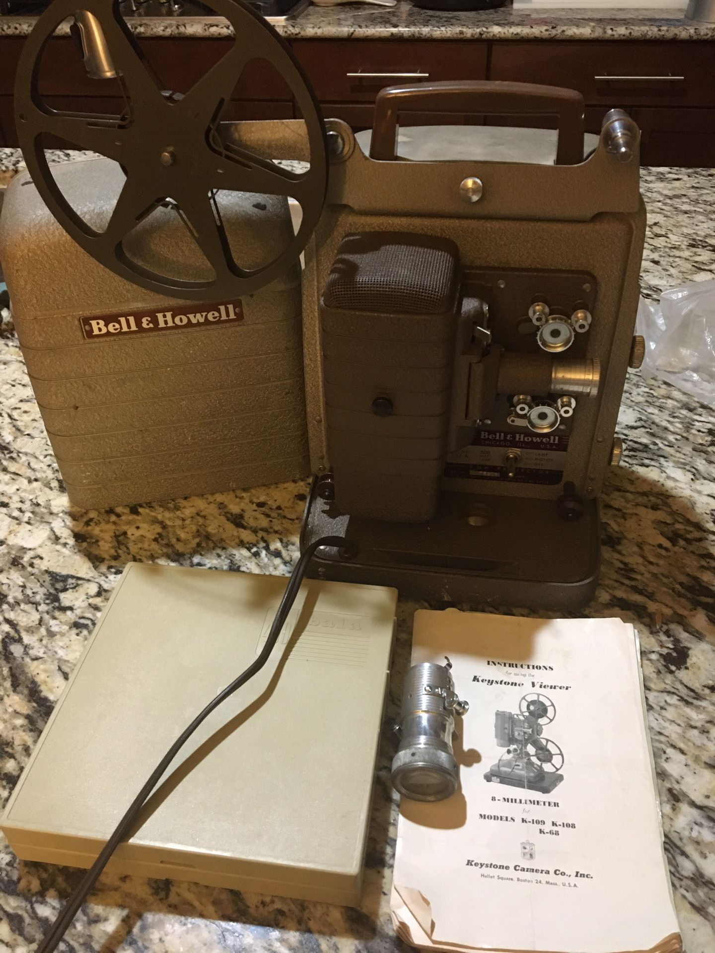 Movie Projector And Camera