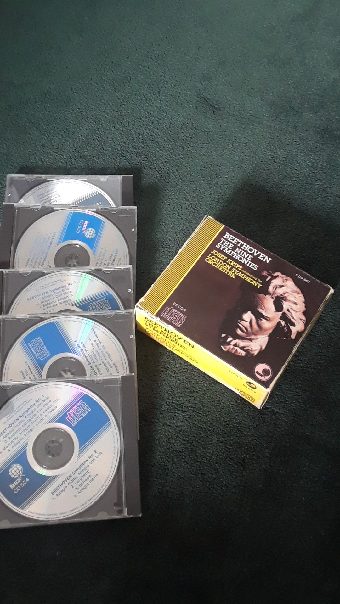 Beethoven 5-CD set