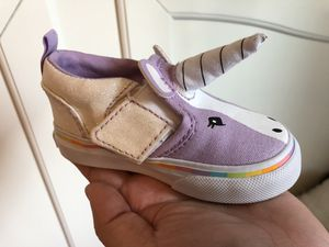f68a72fe285 4c Vans Unicorn Shoes for Toddler for Sale in Elk Grove