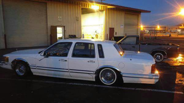 1990 Lincoln Town Car Lowrider For Sale In Stockton Ca Offerup