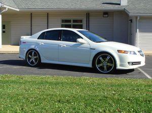 Photo 2007 Acura Tl white pearl