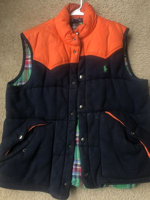 Polo Ralph Lauren vest size L for Sale in Silver Spring, MD