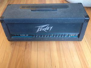 Peavey Ultra 120 All-tube amp head for Sale in St. Louis, MO