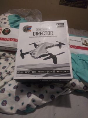 Photo Director foldable drone with live stream camera