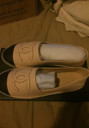 Brand new size 6 female Chanel loafers for Sale in Frederick, MD