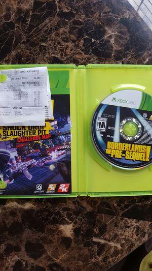 Borderlands Pre-Sequel for Xbox 360 for Sale in Tampa, FL