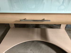 2 separate Glass Top computer desks for Sale in Mentor, OH