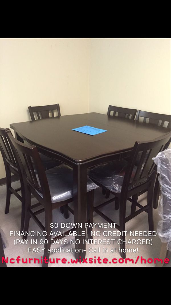 7 PCS COUNTER HEIGHT DINING TABLE SET (Furniture) in Norcross, GA ...