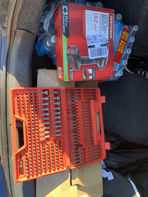 Drill and bit set for Sale in Manassas Park, VA