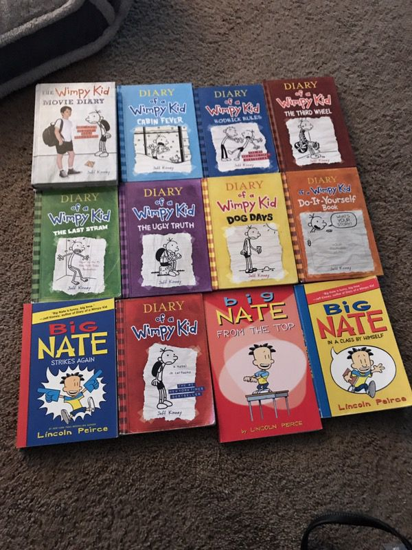 Diary of a wimpy kid and big nate books for sale in buffalo ny diary of a wimpy kid and big nate books for sale in buffalo ny offerup solutioingenieria Images