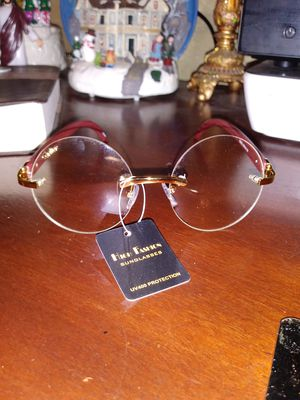 Cartier men's clear round glasses very classy for Sale in Cleveland, OH