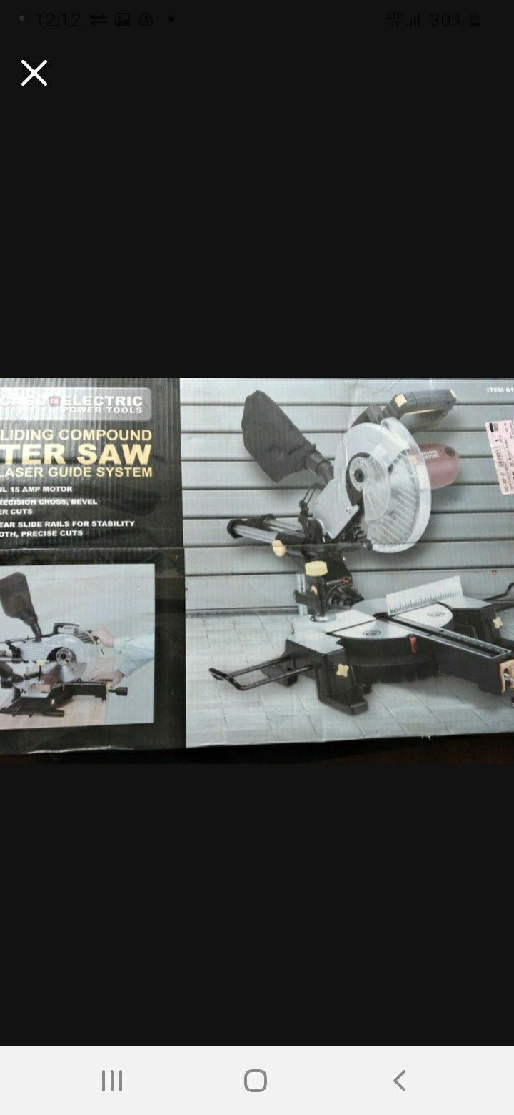 10 In Miter Saw!!