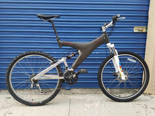 885ef95d63e Trek Y22 CARBON fiber MTB bicycle for Sale in Miami, FL - OfferUp